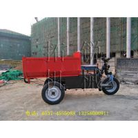 电动拉砖车耐火材料厂运输车 拓锐环保三轮车电动小型自卸车