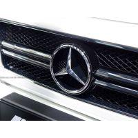 奔驰中网改装新款G55 G500加装AMG ABS大中网