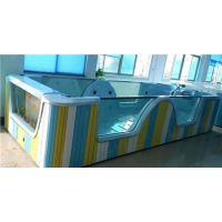 亚克力双面玻璃泳池的结构部件