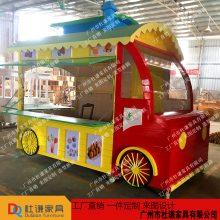 梧州景区特产手推车、北海木制售卖车、防城港市场小吃摊车