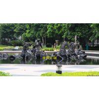 水中骏马雕塑、玻璃钢飞马雕塑,重庆雕塑制作