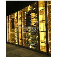 北京不锈钢酒柜价格|不锈钢欧式酒柜定制