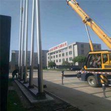 新云 泰州生产锥形不锈钢旗杆 不锈钢国旗杆生产商