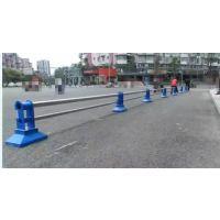 聊城公路京式护栏,聊城仿木纹道路围栏,烤漆草坪隔离栏,Q235组装式围墙栏杆HC