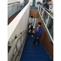 福州市残联专用无障碍轮椅电梯 绍兴市越城区启运斜挂式楼梯升降机价格定制