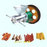 柴油机带动玉米膨化机 家用电小型膨胀机 恒丰质量上乘