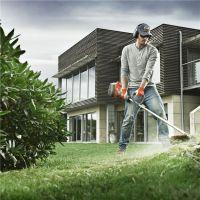 富世华536LiLX电动割草机 胡斯华纳电动割灌机 园林除草机