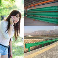 山东宏利防撞设施喷塑交通波形护栏板