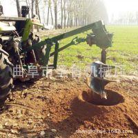 大型后传动式挖坑机 安徽电线杆打坑机 圣鲁植树钻眼机