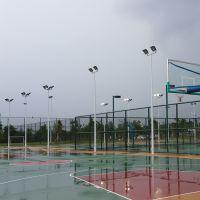 直销新农村LED中杆灯 南宁哪里有篮球场灯杆卖 户外道路灯景观庭院路