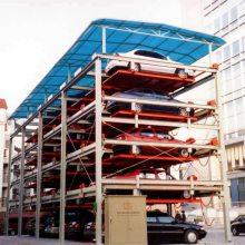 长沙回收地下室平面横移升降智能泊车立体车库设备