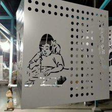 广州雕刻铝单板|商场镂空天花吊顶铝单板