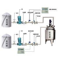 搅拌罐定量加料计量 反应釜自动加料系统 烟台宏健YLJ-II