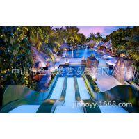 游乐园水上滑梯 水上大喇叭 冲天回旋水世界游乐设备