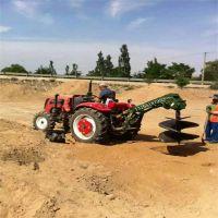好用不贵的地面挖坑机 富兴定做加长螺旋钻头打坑机