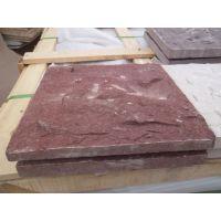 莱阳昊磊石材红砂岩加工,荔枝面,喷砂,自然,粗磨,亚光,乱拼,异型等