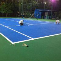 广州丙烯酸网球场施工材料生产 丙烯酸运动球场工程 丙烯酸球场