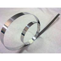 正品不锈钢卷带 301不锈钢分条带 弹簧带边条