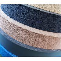 刺皮绒布包辊带现货 绒布糙面皮厂家
