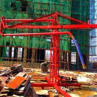 上海15米混凝土布料机/18米电动布料机