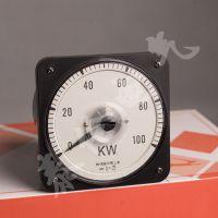 大连 船用机械功率表品牌 63L18-KW三相有功瓦特表 600KW功率表量程