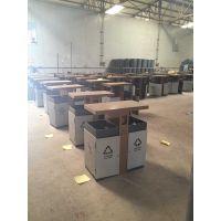 绿宇HDT-06 垃圾桶厂家 户外果皮箱 钢制垃圾桶 街道垃圾箱