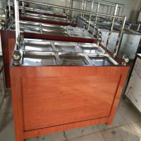 电动蒸汽式油皮机 养生营养新鲜豆浆腐竹机 鼎达全自动