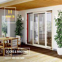 佛山美多裕门窗供应铝合金门窗 定制断桥提升推拉门 隔音防水