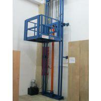山东厂家生产固定式升降台单轨液压升降货梯 厂房货梯简易 高空作业货物提升机
