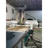 济南隆锦加工中心排钻环保型开料机除尘效果好的雕刻机