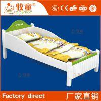 牧童供应幼儿园简约现代木板床叠叠床 学生床 儿童床