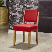 白蜡木主题餐厅椅子,广州实木餐椅定制厂家