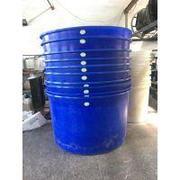 黄山食品发酵桶500L腌制圆桶 pe塑料圆桶