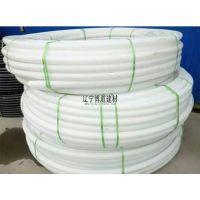 厂家直销白色PE管_白色PE盘管_辽宁博道建材HDPE给水管