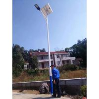 山西6米30瓦 12V LED太阳能路灯价格 厂家定制送货