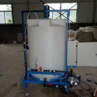 新疆施肥机械厂家 基地无土栽培蔬菜专用水肥一体化带酸碱度检测
