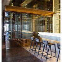 深圳不锈钢酒柜生产厂家 专业个性化定制时尚高端不锈钢恒温酒柜