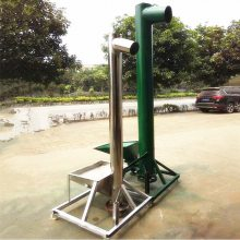 [都用]粮油厂专用螺旋提升机 玉米水稻管式上料机 水泥粉封闭式提升机