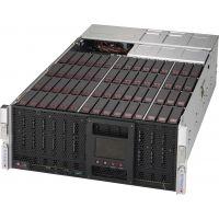 超微机箱 CSE-946SE1C-R1K66JBOD 4U 60上开门热插拔3.5/2.5 硬盘