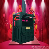 双杠液压海绵打捆机价格 半自动废品压块机 富兴直销金属压块机