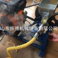 振德热销 山西十用多功能玉米麻花膨化机 小型膨化食品 炸玉米花机器
