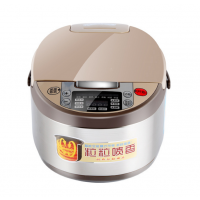 广州九阳大容量电饭煲 5L智能定时电饭锅 多功能带预约方煲批发