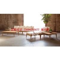 卓意林 ZYL-LJ31成都定制户外柚木实木成沙发、户外沙发款式