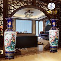 乔迁之喜送什么有什么讲究 高档手绘陶瓷花瓶摆件 客厅摆放