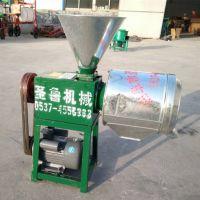 二相电小麦磨面机 家用脱皮磨面机 圣鲁180锥形磨