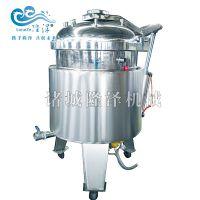 电加热式高压纳豆蒸煮锅_立式高压煮锅_可倾式蒸煮设备-山东隆泽