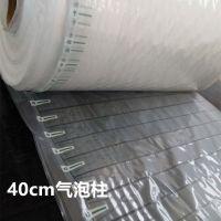 山东气柱袋厂家 充气缓冲气柱40cm宽 保护防摔气泡袋