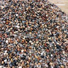 30-50mm天然五彩铺路鹅卵石生产厂家 河北永顺鹅卵石