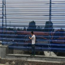 金属防风抑尘网 防风网加工厂 圆孔彩钢板