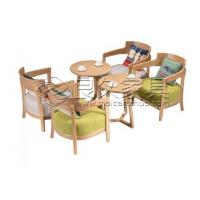 广州良久实木家具咖啡厅桌椅,酒吧桌椅定制批发